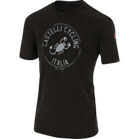 Castelli Armando Camiseta Hombre, negro